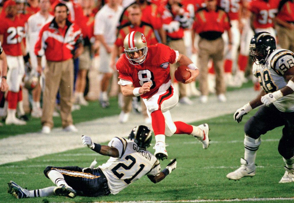 steve young blow out