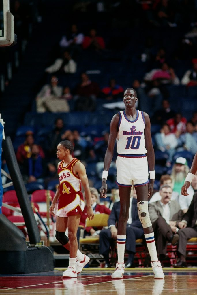 manute bol top 10 tallest nba players